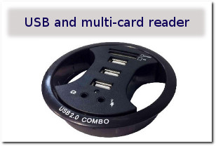 G4 MPS - USB and Multi-card Reader