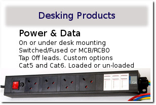 G4 MPS - Desking Modules - Power and Data